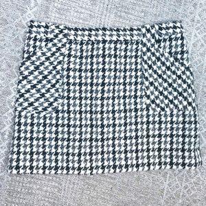 j.crew skirt women's 10 tweed wool herringbone